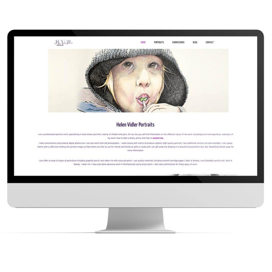 Helen Vidler Website