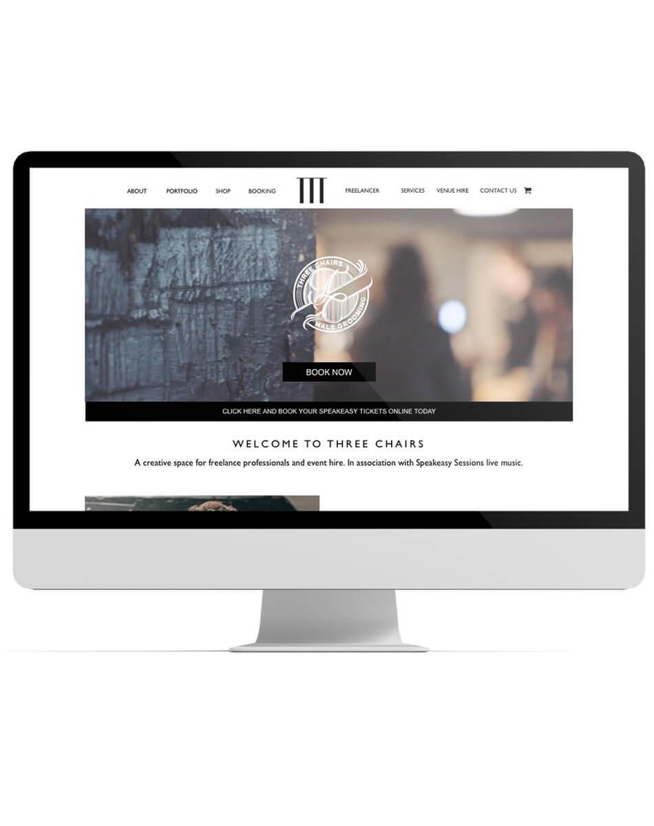 Three Chairs website